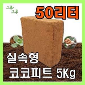 코코피트 압축 배양토 달팽이 화분갈이 흙 톱밥 상토