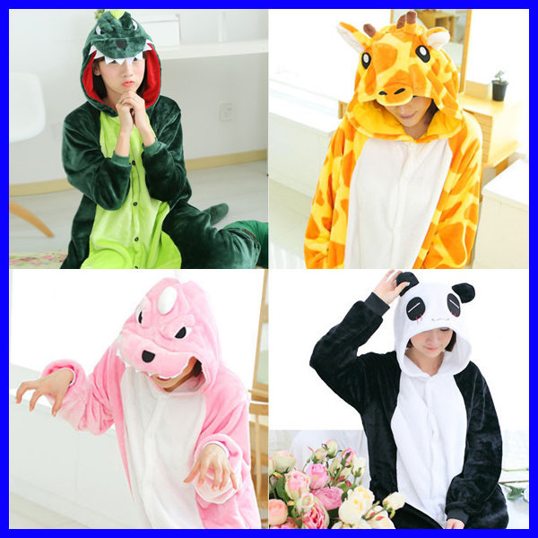 공룡팬더기린/동물잠옷/극세사/수면잠옷/체육대회반티