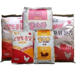 닭사료 대한사료/알스타/토종닭/흑염소/병아리사료