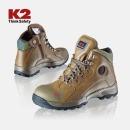 K2 안전화 K2-36 베이지 통기구 건설화 작업화