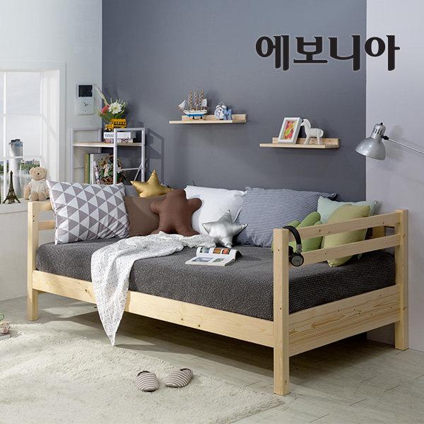 파인 원목데이베드/매트포함/데이침대/슈퍼싱글