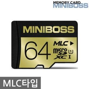미니보스 마이크로sd 64GB /MLC/블랙박스메모리카드