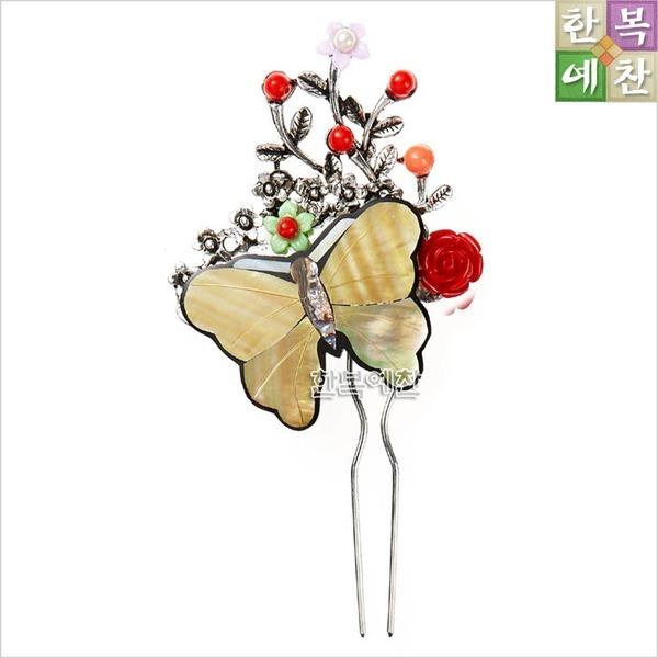 뒤꽂이/한복소품/머리장식/전통소품/비녀/꽃신/D03