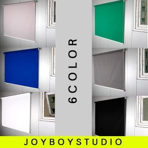 (JOYBOY)6가지색상배경천롤스크린