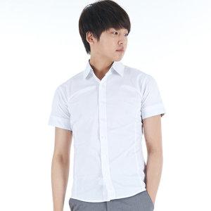 고급스판 하복 교복 반팔셔츠 남자반팔