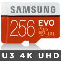 microSDXC Class10 EVO Plus 256GB+어댑터 2017년신형