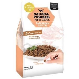 네츄럴프로세스 유기농 소프트키블 연어 6kg/습식사료