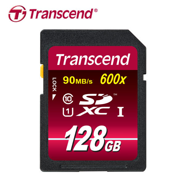 트랜센드 MLC SDXC C10 600X UHS-1 128GB
