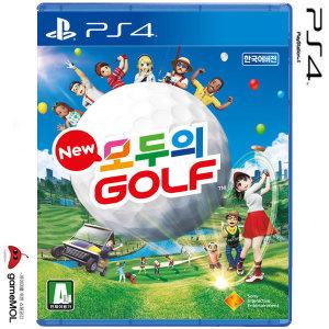 PS4 New 모두의 골프 한글 초회판 / 뉴모두의골프