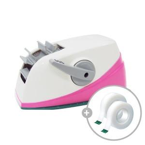 스카치 원터치 테이프커터(핑크)+810리필 2롤