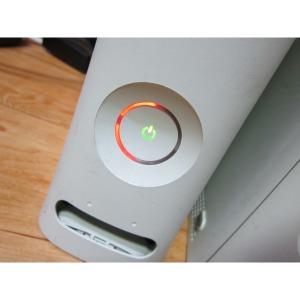 구형 XBOX360 CONSOLE 게임기 고장 레드불 부품용