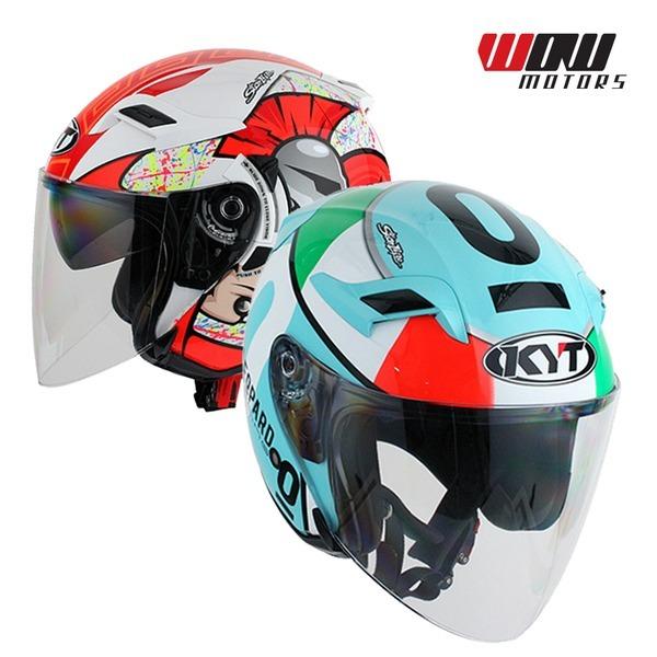 KYT 베놈 오픈페이스 헬멧 오토바이 스쿠터 용품