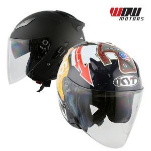 KYT 갤럭시 슬라이드 오픈페이스 헬멧 오토바이 용품
