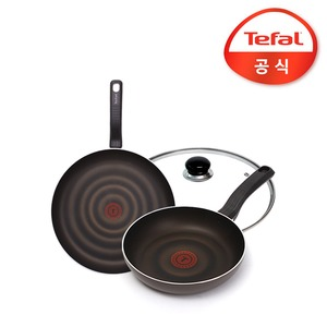 테팔 쏘옵티말 3종세트 팬24+28cm+뚜껑28cm