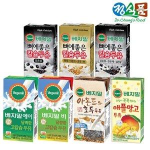 정식품 베지밀A/B 담백달콤한 고칼슘두유  190mlx48팩