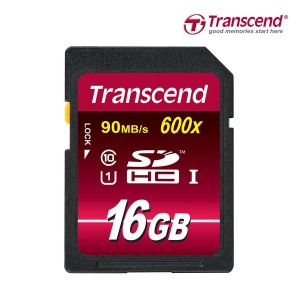 무료배송-트랜센드 SDHC 16GB 600X UHS-I U1/SD카드