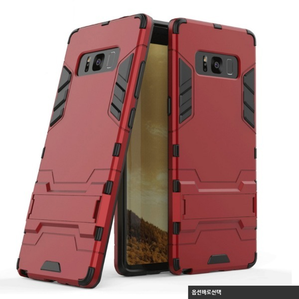 NOTE8 노트8 S8 플러스 아이언맨 방탄 케이스 선물