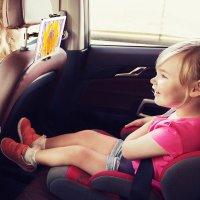차량용 아이패드 갤럭시탭 스마트폰 뒷좌석용 거치대