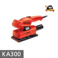 블랙앤데커 전기샌더 KA300 135W 92x230 사각샌더 툴