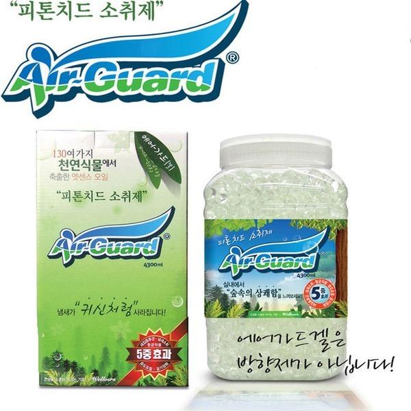 에어가드/피톤치드 소취제/냄새소취/애완견/공기정화