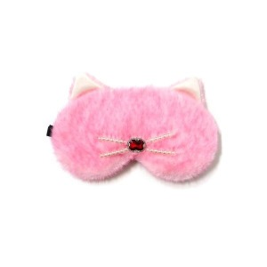 진주를 품은 고양이 / 핑크 수면안대