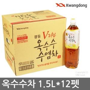 광동 옥수수수염차/1.5LX12펫/생수/헛개차/커피/음료