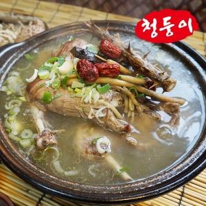 TV방영 가마솥 토종오리백숙 오리탕 삼계탕 3인분