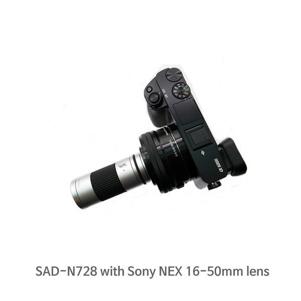 소니 미러리스 카메라 NEX 시리즈 전용 망원 렌즈