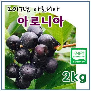 (2017무농약)햇아로니아 생과 2kg
