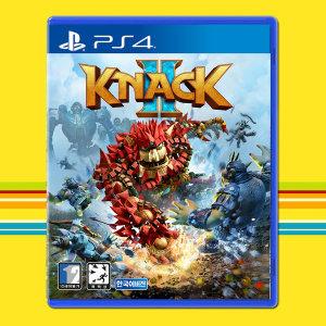 PS4 낵 2 KNACK 2 /넥/우체국택배/넥2/낵2