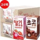 파스퇴르 - 진한 쵸코우유/진한 딸기우유(190ml24팩 / 택1)