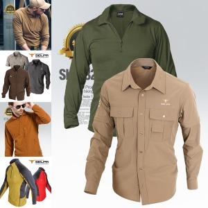 봄/가을용 등산티 등산티셔츠 등산복 남성티셔츠