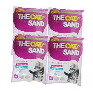 A 고양이모래 더캣4LX4개 4LX6개(박스) 고양이용품