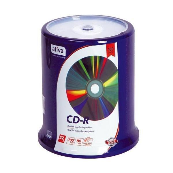 CD-R 100P(700MB/ativa)