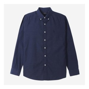 헤지스남성 HZSH7A232N2 면 솔리드 캐주얼 셔츠