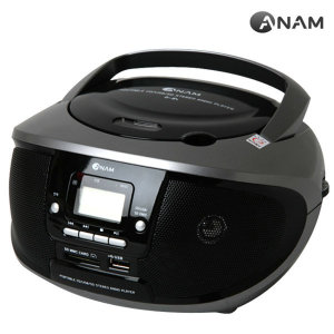 A-84 포터블 CD플레이어 MP3 디스크/일반 디스크 재생/라디오청취/USB포트재생/무선
