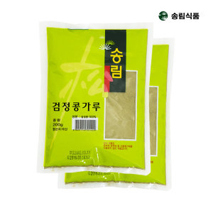 국내산 검은콩가루 200g x 2봉 총400g /선식/검정콩