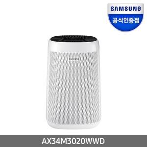 인증점 삼성 공기청정기 AX34M3020WWD 전국무배
