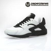페이퍼플레인  PP1358 화이트블랙 운동화/런닝화/에어/키높이/조깅화/커플신발/스니커즈