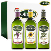 올리타리아 올리브유1L 1병+포도씨유1L 1병+해바라기씨유1L 1병 (선물세트)