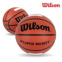 윌슨 농구공 WTB0540 퓨어샷 7호 공식사이즈 29.5형