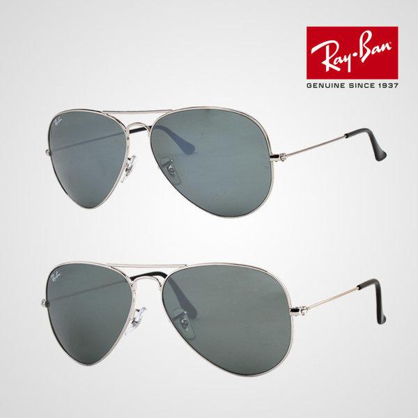 Ray Ban  정식수입  RB3025  실버미러  2종택1  명품 레이벤 미러 선글라스