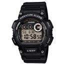 CASIO 정품 손목시계  카시오 W-735H-1A /카시오시계/군인시계/진동알람/스포츠