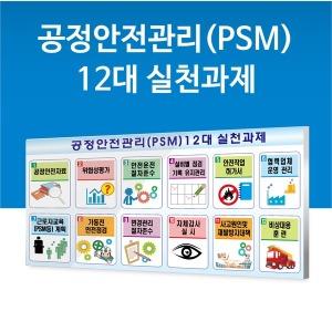 PSM  공정안전관리 12대실천과제 450X600 600X900