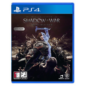 PS4 미들어스 섀도우 오브 워 한글판/소니공식대리점