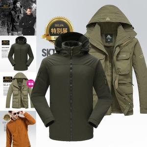 봄/가을/겨울용 등산자켓 바람막이 자켓 점퍼 패딩