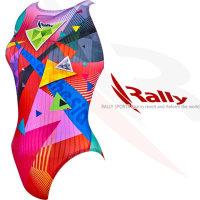 RALLY 원피스 여자 실내 수영복 준선수 CL4125F