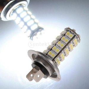 68 SMD 자동차 헤드라이트 램프 LED안개등 H7 6000K