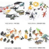 동물 곤충 공룡 모형 인형 유아 아동 학습 완구 교구