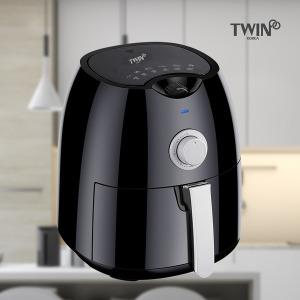 트윈 에어프라이어 튀김기 3.5L 대용량 / 런칭사은품